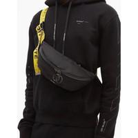 грудь мешок пакеты мужчины оптовых-Мужчины с плеча мешок Yellow Ribbon белый Мужчины Chest сумка Anti-Theft Sling пакет USB Charge порт Satchel Canvas Shoulder Bag