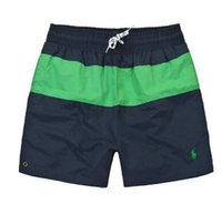 troncos calientes para hombres al por mayor-Pantalones cortos de verano Hombres Hot Surf Beach Hombres Playa Pantalones cortos Polo Hombres Tablero Pantalones cortos Bañadores