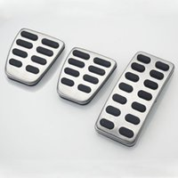 Wholesale car pedal pads for sale - Group buy Stainless Steel Car Pedal Cover Pad For Accent Solaris Sedan For Verna Kia K2 Rio Soul KX3