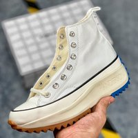 yürüyüş ayakkabıları kadın toptan satış-Box Women J.W. ile JW Anderson Chuck Run Yıldız Zammı Vulkanize Ayakkabı Womens için Tuval Çizmeler Kadın Sneakers Platformu Ayakkabı Kızlar Sneaker
