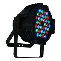 rgb par can al por mayor-Iluminación de escenario RGB 36X3W LED Par Can DJ Par Light Aleación de aluminio Shell Etapa DMX Lighting Bar Boda L