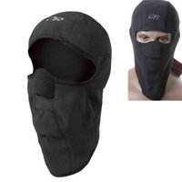 ingrosso motorcycle fleece mask-Nuovo Moto Thermal Fleece Passamontagna Collo Inverno Ski Full Face Mask Cap Cover Mask nz17 2017