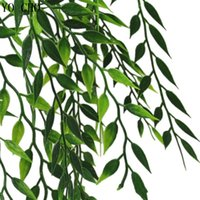 ingrosso albero artificiale falso-Pianta di erba artificiale Foglia finta di plastica Eucalyptus verde Tropical Suculentas cactus Palm Tree Accessori Decorazione della casa