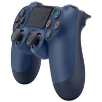 Wholesale Wireless Bluetooth Controller for Vibration Joystick Gamepad Game Controller for Sony Play Station With Retail box