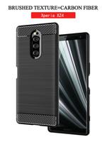 teléfono compacto sony xperia al por mayor-para Sony TPU Funda para teléfono móvil Xperia 10 XA3 Ultra XZ1 XZ2 XZ4 Mini Compact XA3 XZ3 cubierta de la cáscara del teléfono
