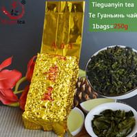 organische grüne tees großhandel-[Mcgretea] 2019 Hoher Berg neuer 250g China authentischer grüner Tee, chinesischer Anxi Tieguanyin Oolong Tee, natürliche organische Gesundheit geben Verschiffen frei