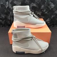 coup de feu achat en gros de-Date tournage autour de FOG Mens Casual chaussures en daim de skateboard chaussures Italie luxe Slip-On FOG designer de mode chaussures 40-46
