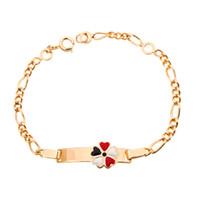 Wholesale kids girls bracelets for sale - Group buy Gold Baby Bracelets Girl Kids Jewelry Daughter Bracelet Enfant Pulseras Bebe Bracciale Bambini Bransoletki Baby Armbandjes B0929