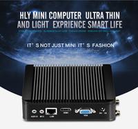 Wholesale wifi client resale online - Lastest Mini PC N2930 GHz Desktop Fanless pc barebone Wifi optional thin client KK n2930 cpu optional j1900