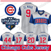 Wholesale kyle schwarber jerseys for sale - Group buy Little League Classic Chicago Cubs Jersey Javier Baez Anthony Rizzo Kris Bryant Kyle Schwarber Willson Contreras David Bote Jon Lester
