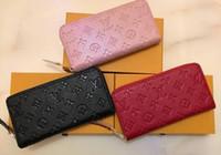 Wholesale ladies wallet phone pocket resale online - C5 Women s Wallet Ladies Leather PU Purses Hasp Clutch Long Zipper Phone Holder Female Wallets