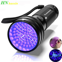 HaoXin UV Flashlight Black Light 51 LED 395 nM Ultraviolet Torch Blacklight Detector for Dog Urine, Pet Stains and Bed Bug