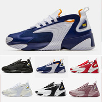 Wholesale sailing shoes for sale - Group buy 2019 newest Zoom K M2K Tekno daddy Sail White Black Dark Grey for men s running sneaker shoes air sports shoes
