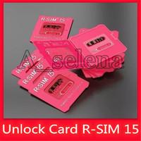 бесплатная доставка оптовых-R SIM 15 R-Sim15 разблокировка карта IOS 13 Изменен Auto разблокировки для Iphone XS X 6 7-11 универсального отпирание быстрой перевозки груза