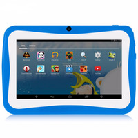 Wholesale android inch game tablet for sale - Group buy 7 inch Kids Tablet PC Quad Core MB GB Android4 Wi Fi Tablet Baby Games Designed for Children with Gift Box