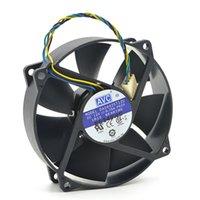 enfriamiento de 4 hilos al por mayor-Refrigerador redondo AVC DA09025T12U 9025 90mm / 80mm x 25mm Refrigerador redondo Ventilador de enfriamiento 12V 0.70A 4Wire 4Pin Conector