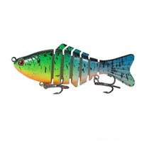 Wholesale teeway for sale - Group buy C3dIH Teeway with Jig Lures cm g Hooks Swimbait Crankbait Fishing Lure Hard Bait Fishing Artificial Segments Fishing Wobblers