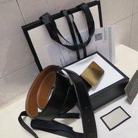 ingrosso cintura di marca di qualità-Con scatola Cintura da uomo e da donna di alta qualità firmata da uomo di marca di marca Cintura da uomo e da donna con fibbia G spedizione gratuita