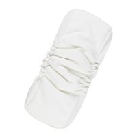 Wholesale diapers gusset resale online - A Pack Manufacturer Diaper Inserts White Waterproof Bamboo Cotton Inserts Double Gussets Prevent Leakage Pocket Nappy