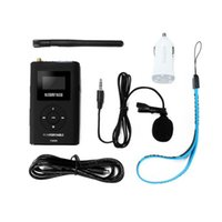 Wholesale tour guide transmitter for sale - Group buy TM M Transmitter for Church Translation with GB Memory Card Portable FM Transmitter Tour Guide System Support AUX Input r20