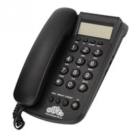 Wholesale record camera hot for sale - Group buy CT CID305 DTMF FSK LCD Display Corded Phone with Speakerphone Incoming Call Records Check Hot