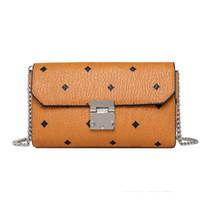 Wholesale ladies luxury handbags resale online - Pink sugao designer luxury handbags mletter print women messenger bag chain bag crossbody pu leather high quality purse clutch with box