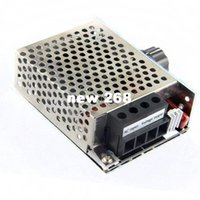 Wholesale pc thermostat for sale - Group buy Freeshipping W V High Power SCR Voltage Regulator Speed Governor Thermostat Regulator Power Supply Controlle