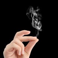 starker magnetischer magischer ring großhandel-Magic Smoke Fingerspitzen Magic Rub Hands und Generate Smoke Toys Erwachsene oder Kinder führen Magic Props durch