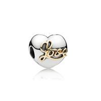 materiais para pulseiras de contas venda por atacado-Fit Pandora moda feminina pure S925 real prata beads para pandora pulseira material diy pura corda de prata talão de prata talão acessórios