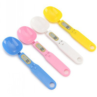 Measuring Spoons With Scale 500g 0.1g Capacity Digital Electronic Scale Kitchen Baking Weighing LCD Display Spoons