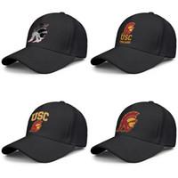 bola gay al por mayor-USC Trojans football basketball logo Mesh Men Womens Ajustable Ball Hats Relaxed Fishing Cap Core Smoke Round Logo Marble Print Gay