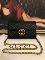 robe de bal acrylique achat en gros de-qualité classique dames caviar noir Woc embrayage Messenger sac 33814 en cuir d'agneau matelassé mini sac à bandoulière épaule 20cm direct900