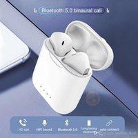 blackberry touch smartphone großhandel-i88 tws pods Bluetooth-Kopfhörer Drahtlose Bluetooth 5.0-Ohrhörer air Touch-Steuerung 3D-Surround-Sound-Ladekoffer für alle Smartphones