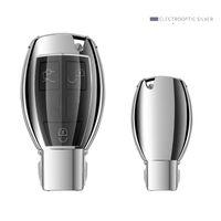 mercedes benz kapakları toptan satış-Yumuşak TPU Araba Anahtarı Kapağı Durumda Kabuk Mercedes Benz C Sınıfı W205 GLC GLA Araba Aksesuarları Koruyucu anahtar çanta