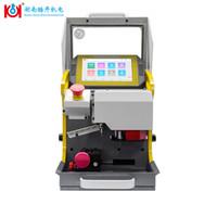 cortadores de máquina duplicadora al por mayor-Máquina cortadora de llaves CNC Kukai SEC-E9 Máquina cortadora duplicadora de llaves 2019 Herramientas de cerrajería a la venta para hacer llaves para autos