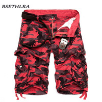 Wholesale military clothing army for sale - Group buy Bsethlra Cargo Shorts Men Summer Hot Sale Casual Male Shorts Military Cotton Camouflage Design Fashion Brand Clothing MX190718