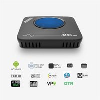 Wholesale s912 tv box resale online - MECOOL M8S Max Amlogic S912 GB GB Android TV BOX K Streaming Media Player Smart TV BOX With Cooling Fan