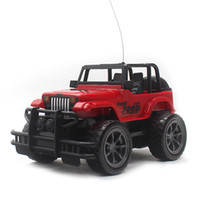 детские игрушки оптом оптовых-1:24 Electric Mini Rc Car Remote Control Toys Radio Control Car Toys For Boys Rc Jeep Flash Light Without Retail Box