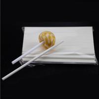 бумага пищевая оптовых-15см Lollipop Стик Food Grade Paper Pop Sucker Палочки Cake Pop палочки для Леденец конфеты Шоколад Сахар полюс ZC1386
