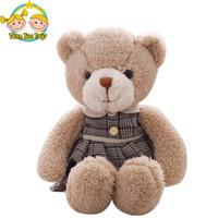 ingrosso coppie orsacchiotti-38cm Cute Lovers Bear Plush Toys Farcito Lovely maschio e femmina Teddy bear Bambole di coppia Kawaii regalo di compleanno per ragazze