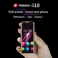 android smartphone micro sim karte großhandel-Luxus-Super-Mini-4G-Handy K-TOUCH i10 3,46 Zoll gebogener Bildschirm 16 GB / 32 GB / 64 GB ROM Android 8.1 Gesichts-ID Kleinstes Smartphone