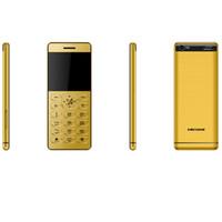 telefones celulares para crianças pequenas venda por atacado-Desbloqueado pequeno bar mini telefone móvel para crianças mulheres crianças meninas senhora estudante sênior bonito câmera de vibração ultrafinos cartão de metal celular