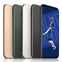 Wholesale andorid cell phones for sale - Group buy Goophone Andorid Cell Phone max inch GB GB GB GB Face ID Support Wireless Charger WIFI Bluetooth Mobile Phone