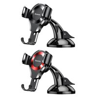 Wholesale telephone phone holder for sale - Group buy Baseus Universal Car Mobile Phone Holder Car Console Suction Cup Mount Holder Stand Clip Support Mount For Cellphone Telephone T190625