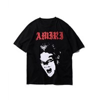 Wholesale t shirt online - Amiri Mens Designer T Shirts Hip Hop Mens Tees Fashion Vampire Men Women Designer Shirt Amiri Polo Luxury Shirt