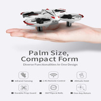 Wholesale best rc helicopters resale online - RC H36 Mini Drone RC Drone Quadcopters Headless Mode One Key Return RC Helicopter Best Toys For Kids