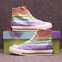 b9663a23e62 Rainbow Canvas Shoes Women Canada