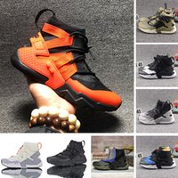 Wholesale huarache colors resale online - 2020 Huarache s Gripp QS Sail Olive Running Shoes Huaraches gripp Trainers Fashion Designer Men Women Boots Hurache Sneakers Sports boot