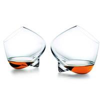 kristall kopfbrille groihandel-Gläser Glas-Schalen-Kopf-Wodka-Schuss Weinglas Neuartige Becher 25ml-250ml Double Wall Schädel Skeleton Whiskey Bar Wein ZJ0128