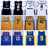 42 film toptan satış-Kolej Film Basketbol 4 Allen Iverson Forması Beşiktaş Cola Turka 42 Scott Howard 9 Jimmy Brooks 13 Wilt Chamberlain 7 Toni Kukoc